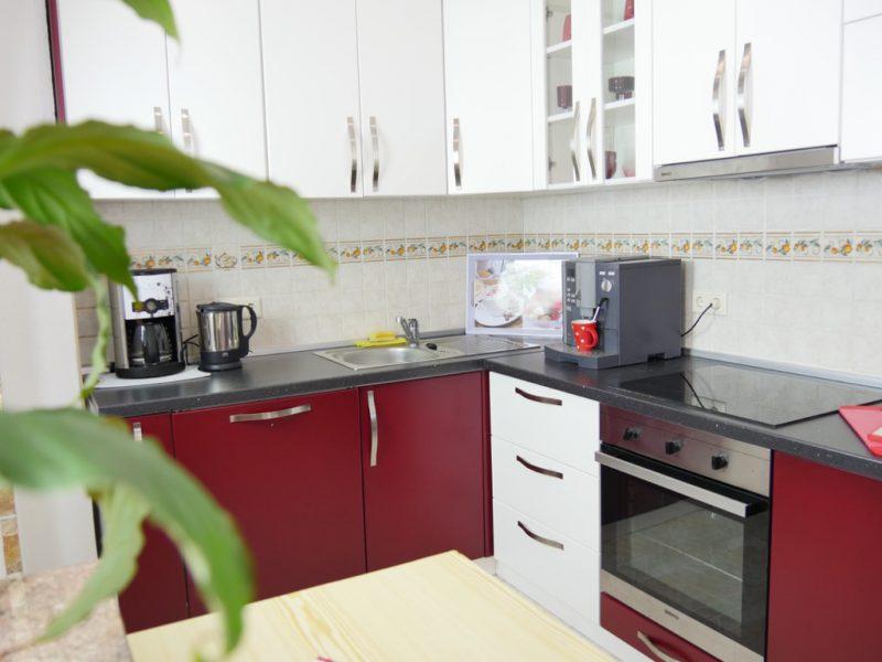 novalja-ferienwohnung-küche