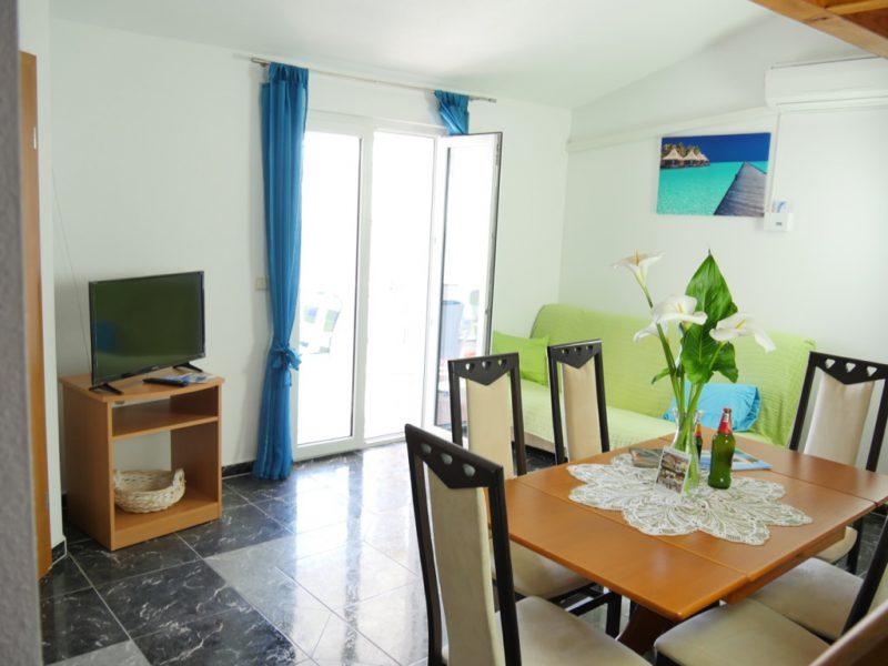 novalja-apartment-a4-meersicht