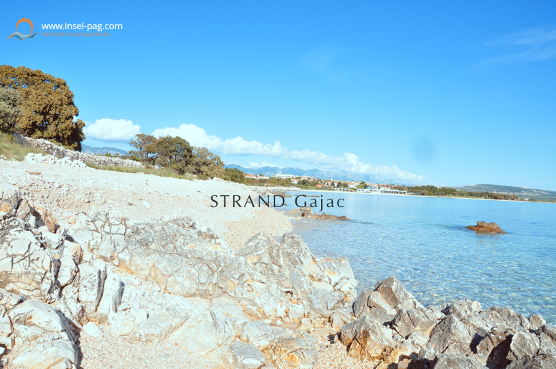 strand-gajac-novalja-kroatien