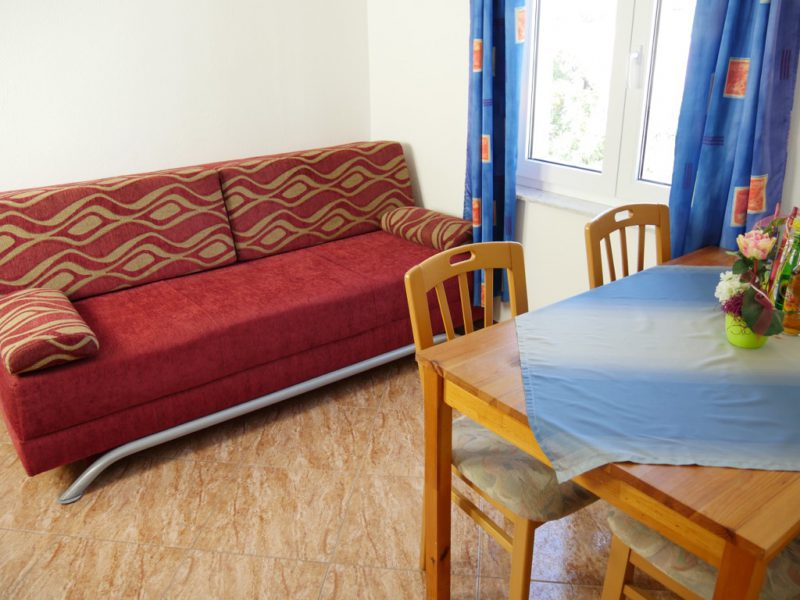 novalja-apartment-a3-essbereich