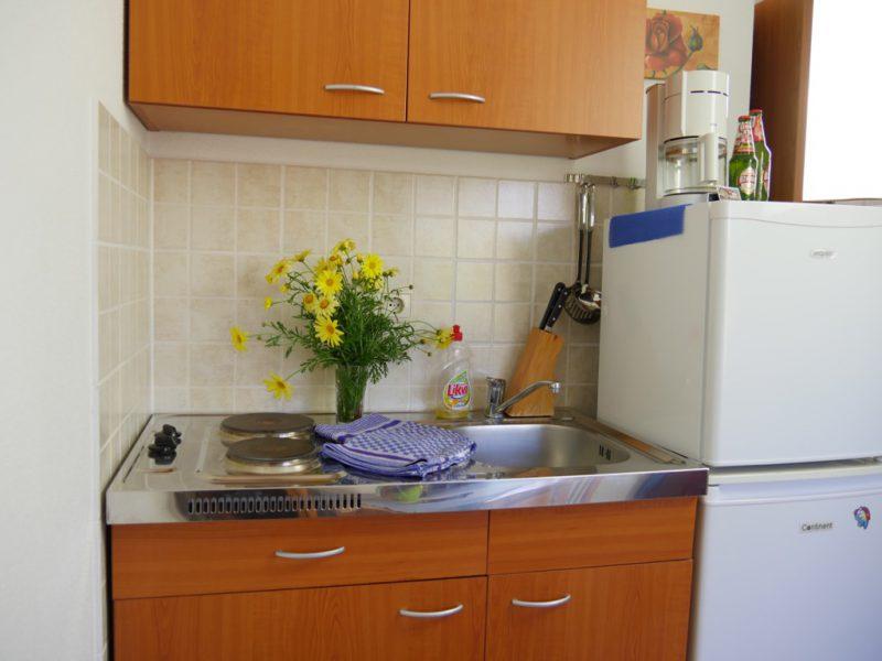 novalja-apartment-a3-kochecke